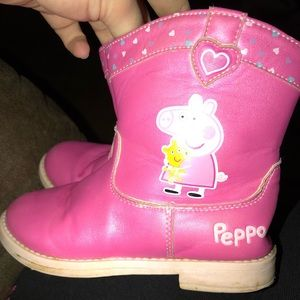 Other - Peppa Pig ZIP Boots